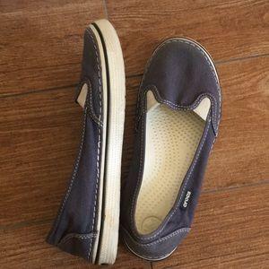 Crocs Blue Loafers